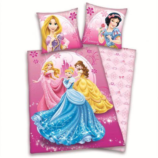 Princess flanel dekbedovertrek