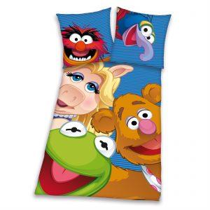 The Muppets flanel dekbedovertrek