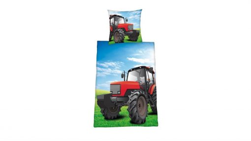 Tractor flanel dekbedovertrek