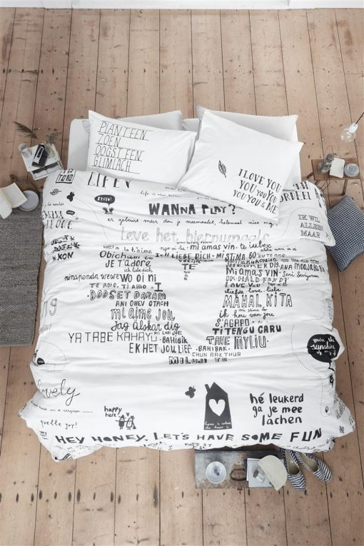 Dekbedovertrek Happy Bed 140 x 200/220
