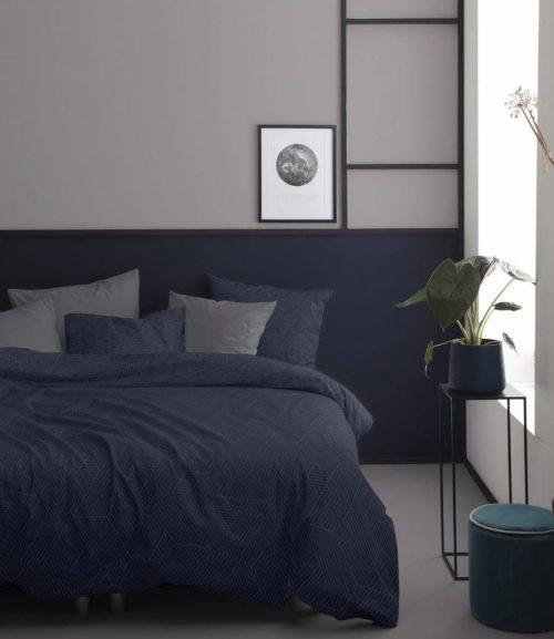 Dekbedovertrek Stray Midnight Blue 260 x 200/220