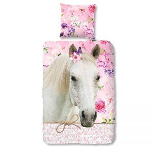 Good Morning Hesta Horse Dekbedovertrek